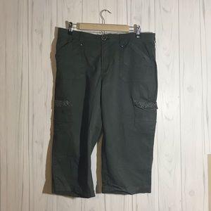 Lee green cargo capris  ( 16)
